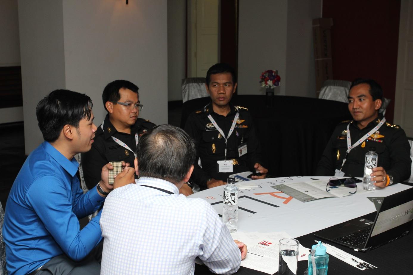 1er forum franco tha de cyber s curit la r sidence de for Chambre de commerce franco thai
